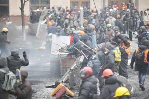 Протистояння на Грушевського: центр Києва