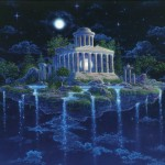 Moon Temple by Gilbert Williams