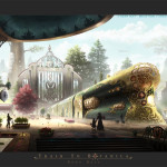 Train to Botanica by Remy Hoff