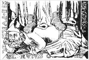 Фигура татарина под ногами Генриха II
