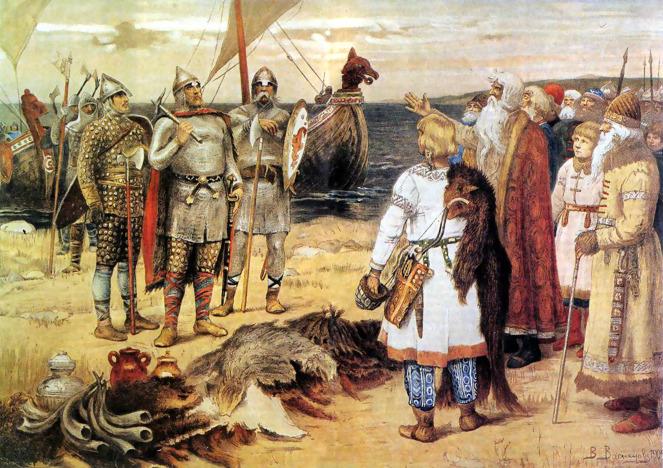Васнецов В.М. «Варяги», 1909 г.